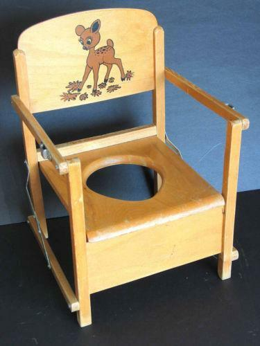 Gentil Vintage Potty Chair | EBay