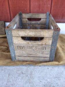 old milk crates
