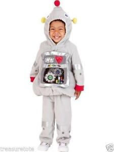 Toddler Robot Costume  sc 1 st  eBay : gizmo toddler costume  - Germanpascual.Com