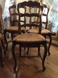 Antique French Dining Chairs