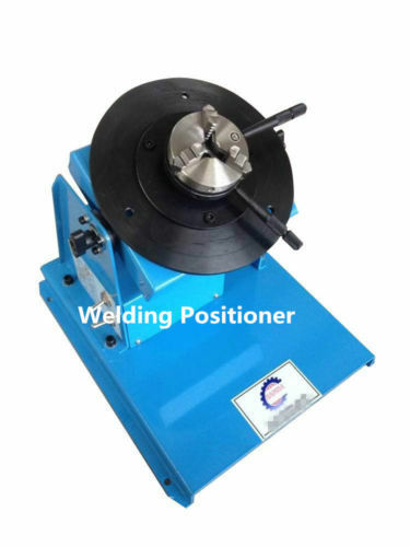 New 2 18RPM 10KG Light Duty Welding Turntable Positioner With 65mm Chuck T