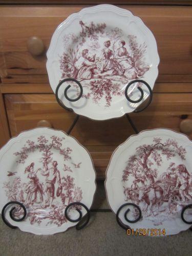 & Toile Dinnerware   eBay