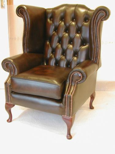 Merveilleux Leather Chesterfield Chair | EBay