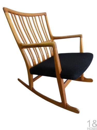 mid century rocking chair