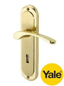 Brass Door Handles With Lock