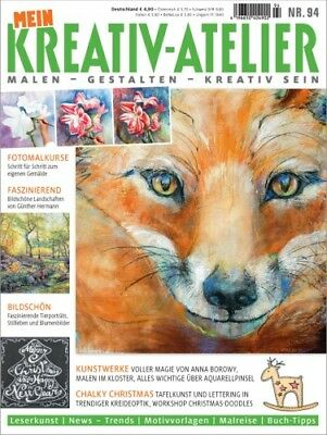 Mein Kreativ Atelier 94/2017  Fotomalkurs - Landschaften - Tierportraits