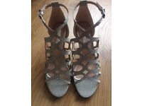 Miss KG SANDALS SIZE 36 **PERFECT AS BRIDAL SHOES**