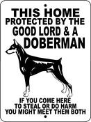 Doberman Pinscher Signs