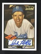 Dodgers Signed Card