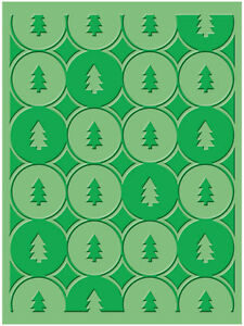 Cuttlebug A2 WINTER TREES embossing folder - $8