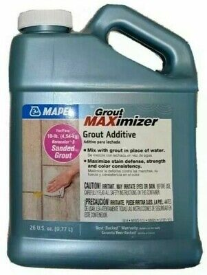 MAPEI Grout Stain-resistant Water-based Maximizer 26-oz Grout Additive-LOT OF 2