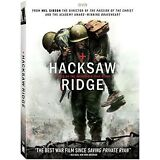 HACKSAW RIDGE (DVD,2017) DRAMA*WAR*HISTORY NOW SHIPPING !
