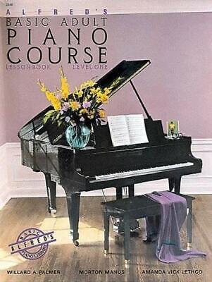De Alfred Básico Adulto Piano Campo: Lesson Libro Level 1 Por Willard...