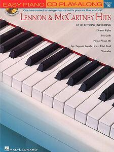 Easy-Piano-CD-Play-Along-Lennon-McCartney-Hits-Learn-Beatles-Music-Book