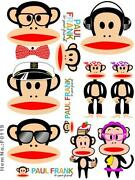 Paul Frank Stickers