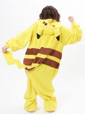 Pokemon Yellow Pikachu Women Cosplay Clothes Costume Pajama Party Home Wear - Home Cute Kostüm