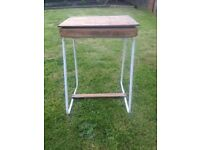 Retro vintage child's desk