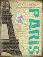 Parigi Postale Carta Francia Città Torre Eiffel Francobollo Regalo Novità -  - ebay.it