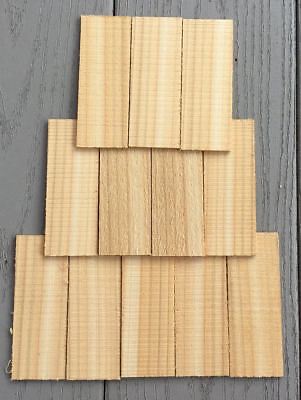 Cedar Roofing Shake Shingles For Bird Houses   50 Pc    Doll House   Kits Crafts