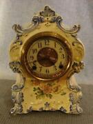 Antique Porcelain Clock
