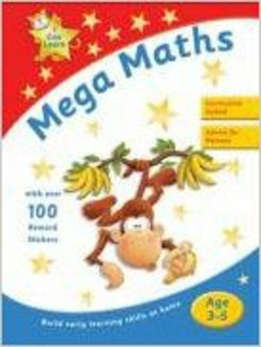 Mega Maths (I Can Learn), New, VARIOUS Book