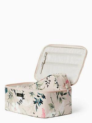 Kate Spade Daycation Botanical Large Colin Cosmetic Case Make Up Bag