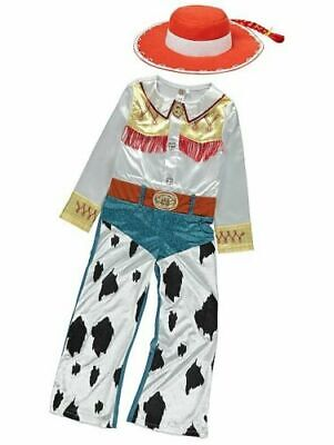 George Toy Story 4 Jessie Girls Fancy Dress Costume Outfit 2-3 7-8 Years