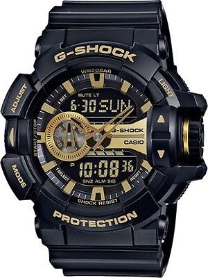 Weekend Deal New G-Shock GA400GB-1A9 Black-Gold Analog-Digital XL Mens Watch