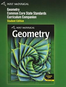 Holt geometry books ebay holt mcdougal geometry common core curriculum companion student edition 2012 fandeluxe Image collections