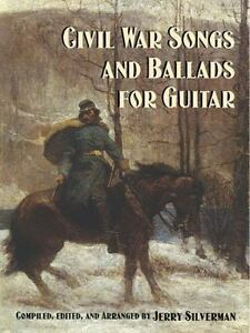 Civil War Songs and Ballads for Guitar-ExLibrary