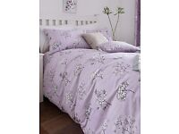 LOVELY LILAC TIFFANY DOUBLE DUVET COVER SET - NEW IN PACKET