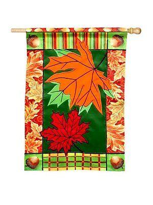 Evergreen Enterprises Standard Sized Flag Brilliant Leaves S