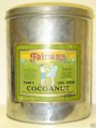 Coconut Tin