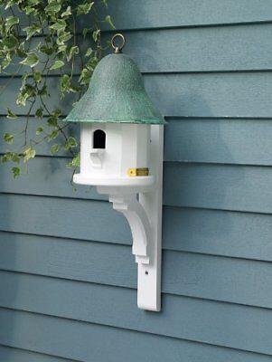 Lazy Hill Farm Copper Top Bird House Cellular Vinyl, Verdi Roof & Bracket 39801 - Lazy Hill Birdhouse