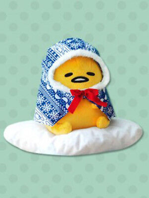 NEW FuRyu Blue Gudetama Gude Gude Nordic Big DX Plush 40cm AMU-PRZ7726 Official