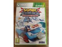 xbox one/xbox 360 game SONIC ALL STARS RACING LIMITED EDITION