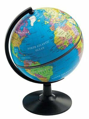 "Elenco 5"" Desktop Political Globe , New, Free Shipping"