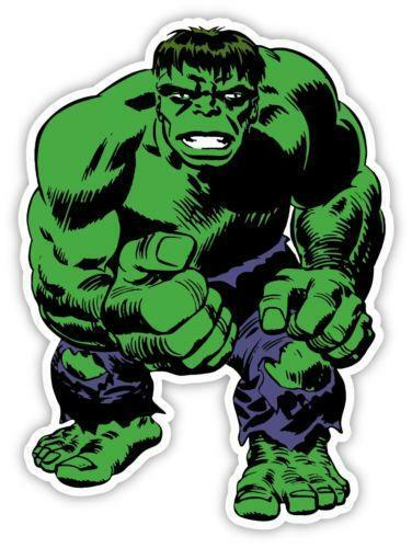 Incredible Hulk Decal Ebay