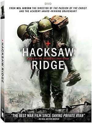 Hacksaw Ridge  Dvd  2017  Includes Slipcover   Fast Shipping   Same Day