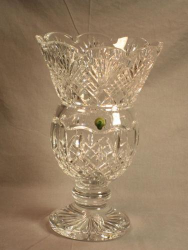 Signed Crystal Vase Ebay