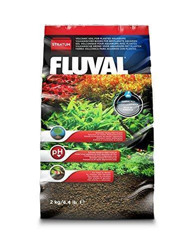 Fluval Plant and Shrimp Stratum, Mineral Rich Volcanic Soil, 4.4-Pound Pouch