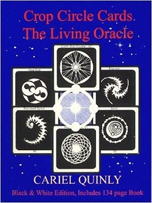 - Crop Circle Cards : The Living Oracle by Cariel Quinly - 64 card deck + booklet