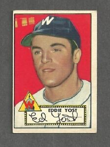 1952-Topps-123-Eddie-Yost-Washington-Senators-EX-FREE-SHIPPING
