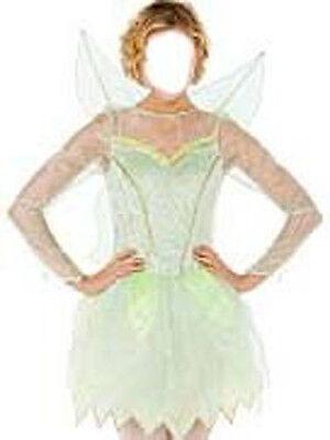 NWT! DISNEY STORE Peter Pan Fairy TINKERBELL Fancy Dress Women COSTUME ADULT L - Disney Tinkerbell Adult Costume