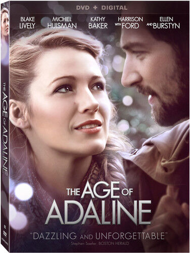 The Age Of Adaline [new Dvd]