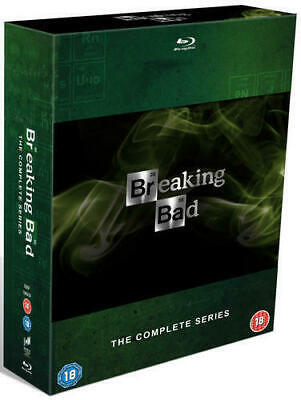 Blu Ray BREAKING BAD the complete series 1 2 3 4 5 & 6 box set. New (Breaking Bad Blu Ray Box Set 1 5)