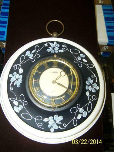 Harris Mallow Clock Ebay