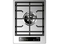 NEW Baumatic BHG400SS Premiumline 30cm Wok Burner Domino Gas Hob Stainless Steel - RRP £549