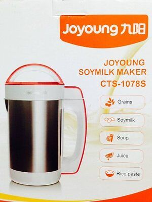 Automatic Hot Soy Milk Maker Joyoung CTS-1078S Easy-Clean