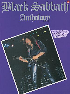BLACK SABBATH ANTHOLOGY (Black Sabbath Anthology Guitar Tab)